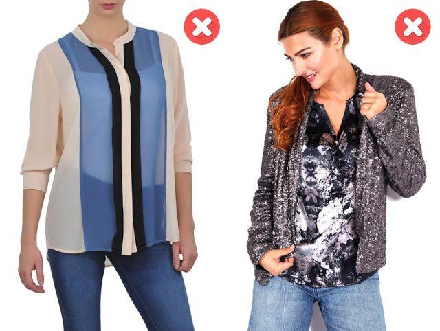 Мешковатая одежда для женщин с большой грудью