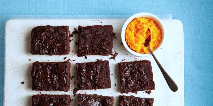 Lactose-intolerant? Vernietig je chocolade-cravings met dit fantastische recept voor brownies op basis van boekweit.