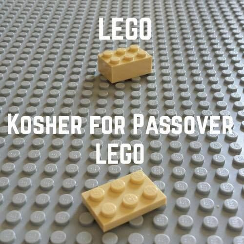 Kosher for Passover Lego