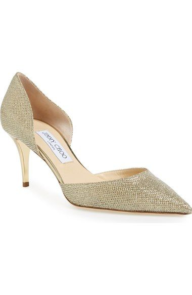 Chaussures plates cuir ornements façon perle LeemaJimmy Choo London UFqJWtv6e