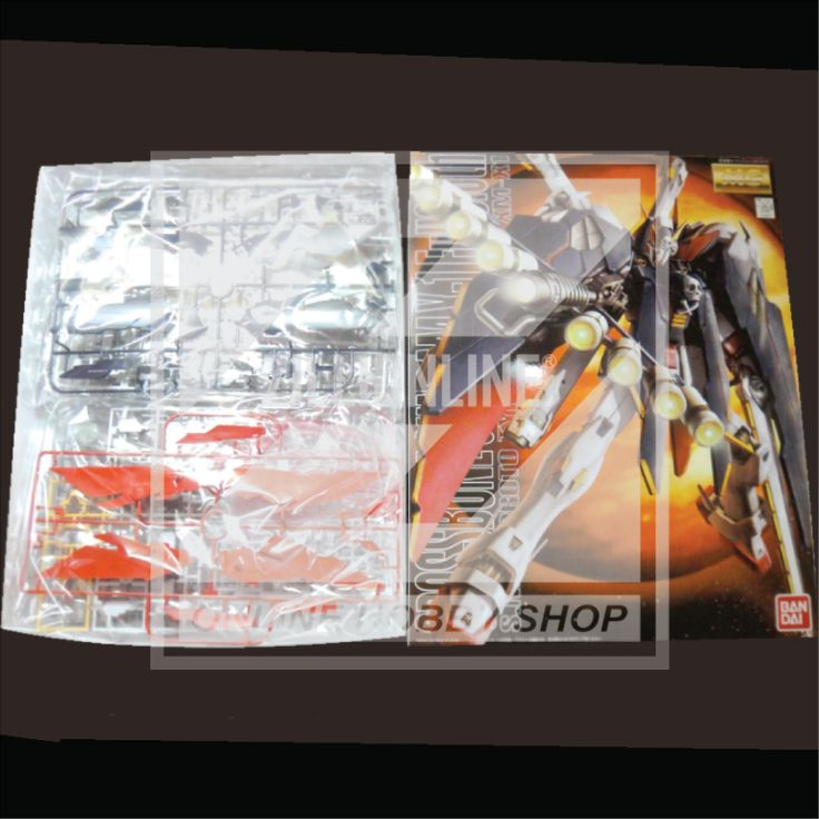[MODEL-KIT] MG 1/100 - XM-X1 CROSSBONE GUNDAM [FULL CLOTH]. Item Size/Weight: 39.2 x 31.2 x 8.5 cm / 840g*. (*ITEM SIZE & WEIGHT BEFORE PACKAGED). Condition: MINT / NEW & SEALED RUNNER. Made by BANDAI.