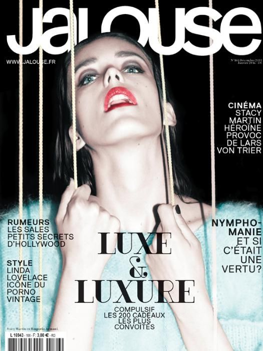 #StacyMartin Jalouse Magazine, December 2013 / January 2014
