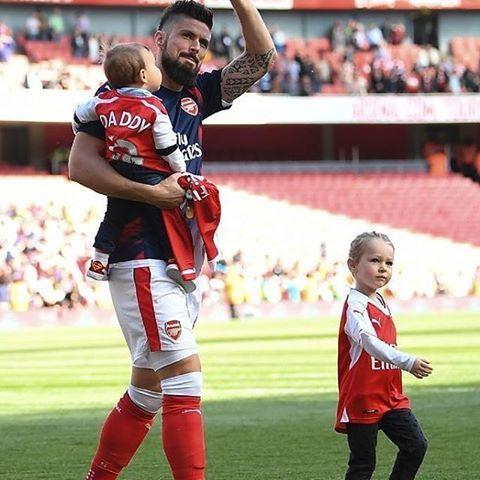 Olivier Giroud #jadegiroud  #evangiroud #Arsenal #WeAreTheArsenal  #COYG  #PremierLeague >>May 21, 2017