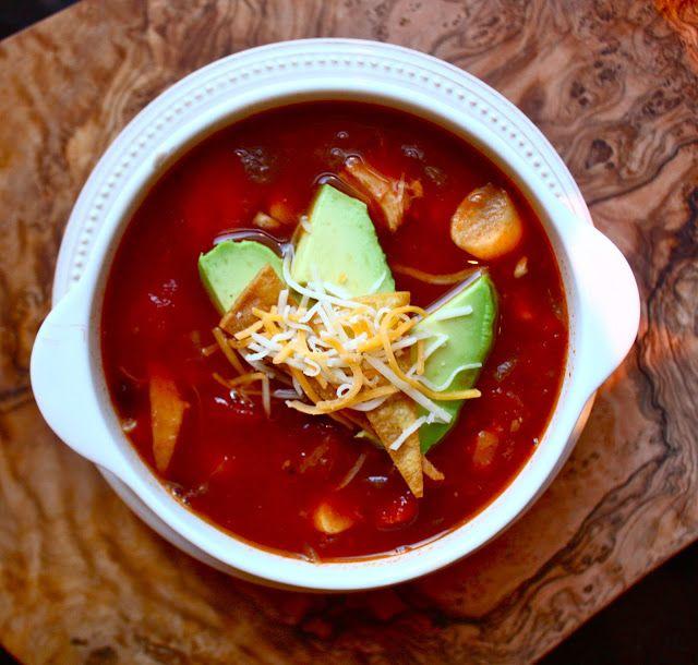 Cannella Vita: chicken tortilla soup