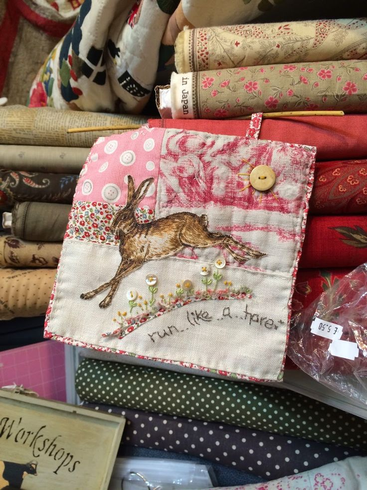 HenHouse: Jo Colwill (Cowslip Workshop) stand at the Birmingham Festival of Quilts