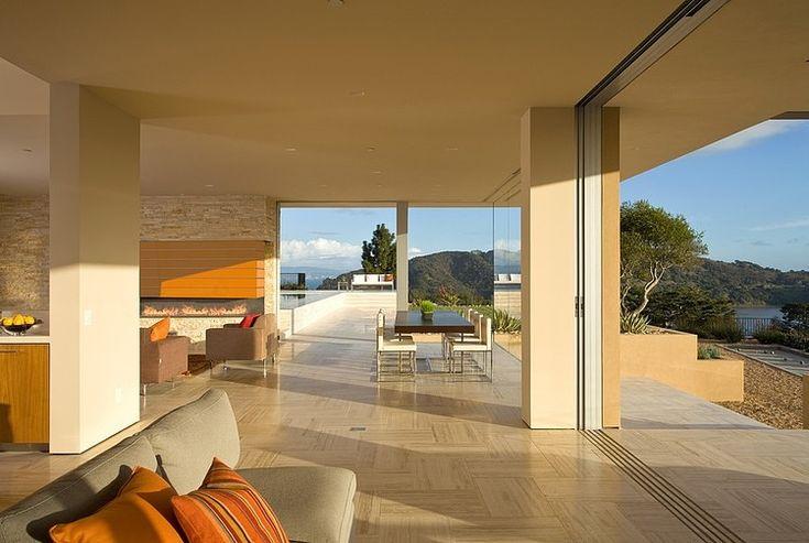 San Francisco Bay Residence by Swatt | Miers Architects...interior shot