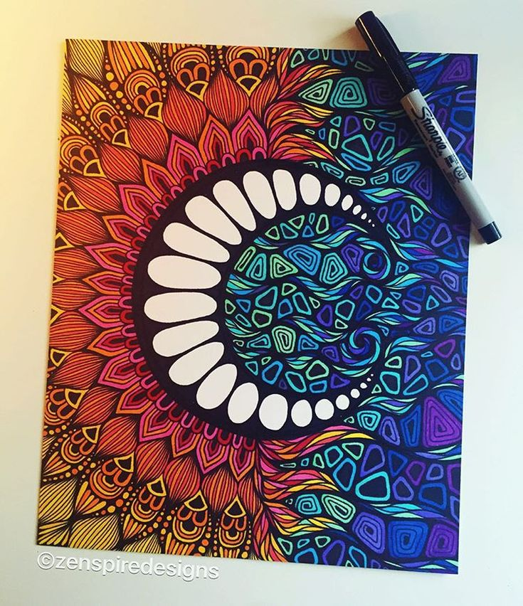 Gallery For gt Sharpie Marker Art