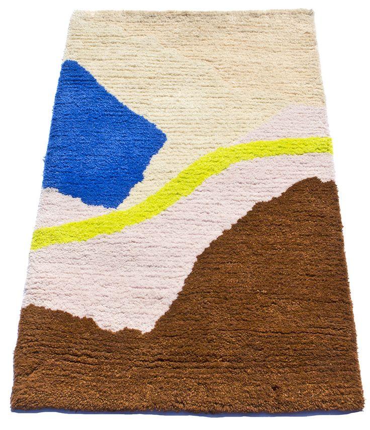 Hand Tufted Rug 3 W By 5 L 100 Wool Yarn 1 Pile On