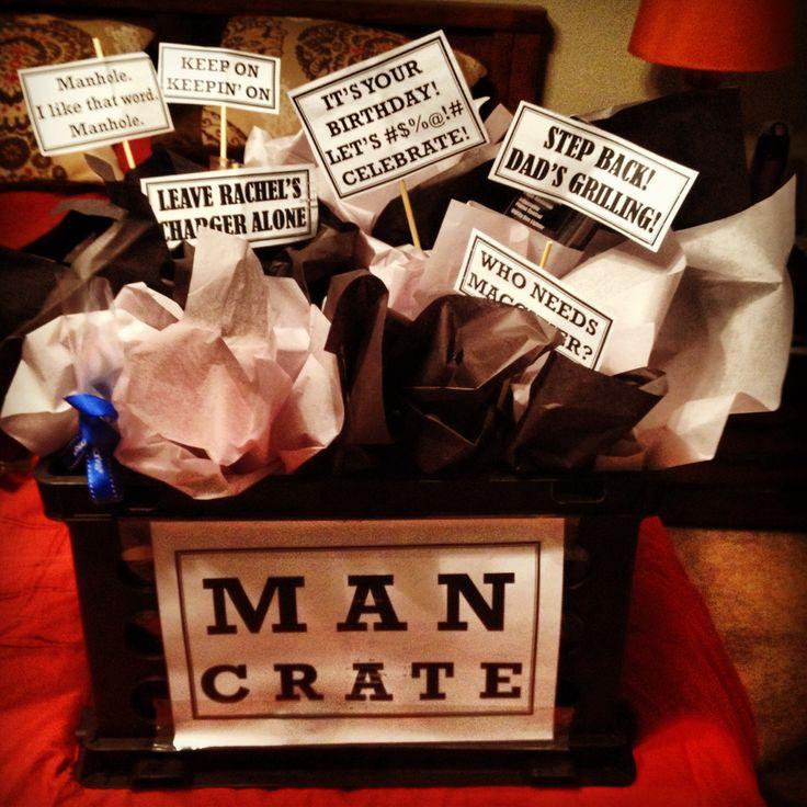 Birthday T For My Husband Gift Basket For Guys Aka