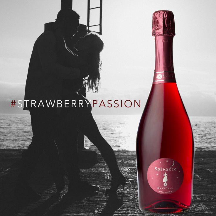 Fratelli Saraceni #Splendia... a sweet Italian strawberry sparkling wine
