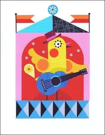 9. The Guitarist  #Oopsydaisy  #ArtForKids