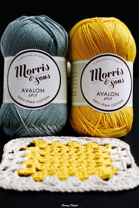 Crochet: Yellow Brick Blanket or coasters