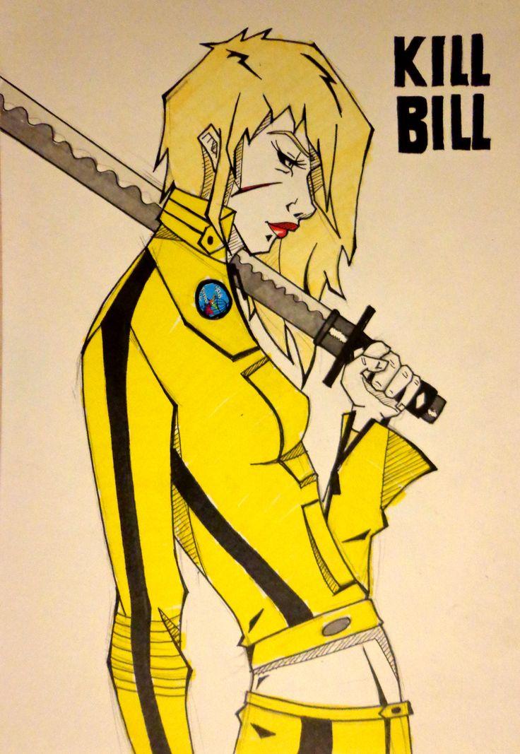 Kill Bill Illustration draw