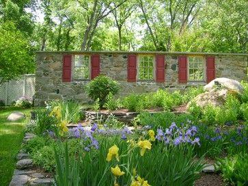 Secret Garden - rustic - Landscape - Other Metro - Slater Associates Landscape Architects