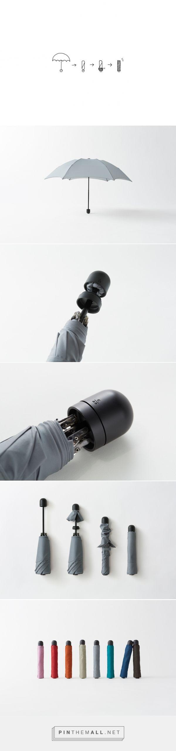 우산을 접고나서도 약간의 물이고여있거나 제대로 말아두지않으면 우둘투둘한 모습이 되는데 이제품처럼 한번더 비닐로 감싸는 형태가 되면 편리할 것 같다. 평소 우리가 일회용 비닐에 싸서 들어가는 효과를 합친 것 같다.