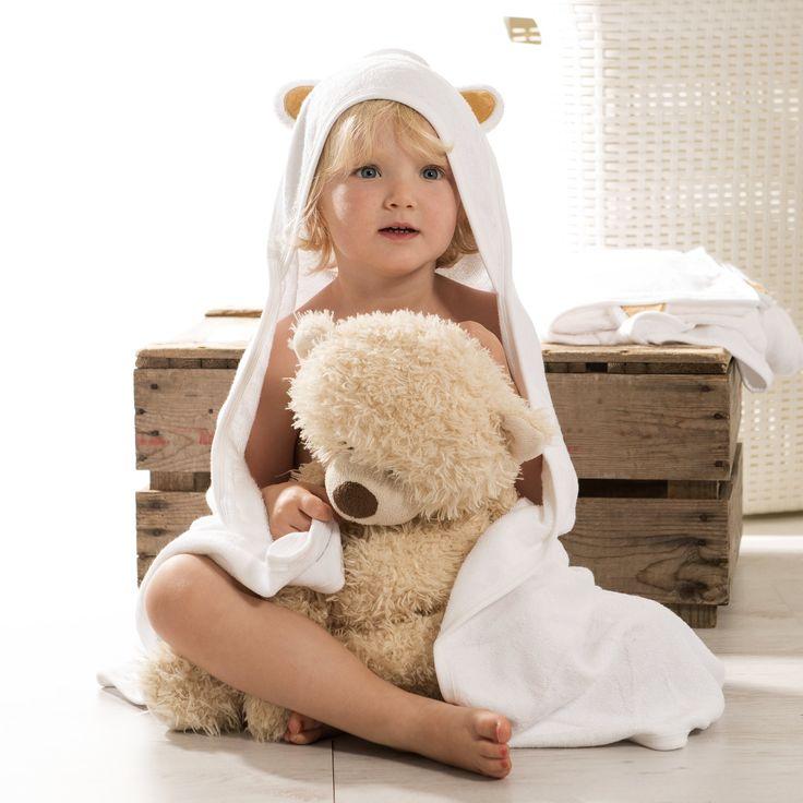 100% Bamboo Hooded Baby Towel