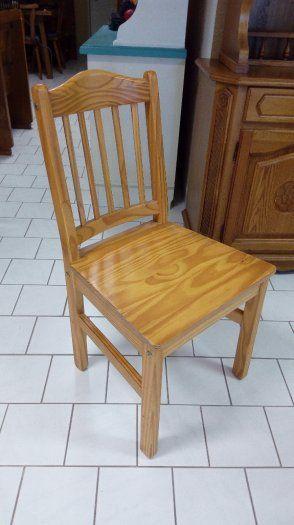 stoličky z prírodného dreva - 6ks po15€