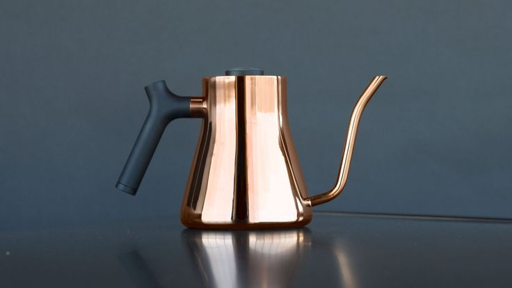 Fellow designs app-controlled kettle for precise coffee brewing