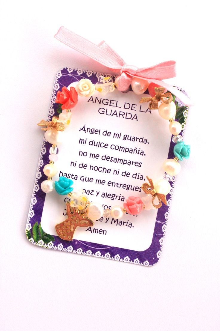 PULSERA ANGEL DE LA GUARDA NIÑA REF. 126