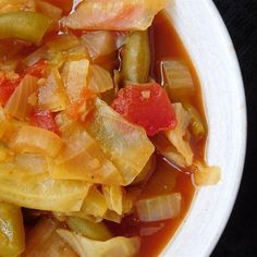 """Cabbage Fat-Burning SoupI """"I have used this recipe for years - It is really a wonderful, healthy way to lose weight."""""""