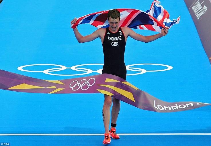 Alistair Brownlee - Gold Medal Men's Triathlon