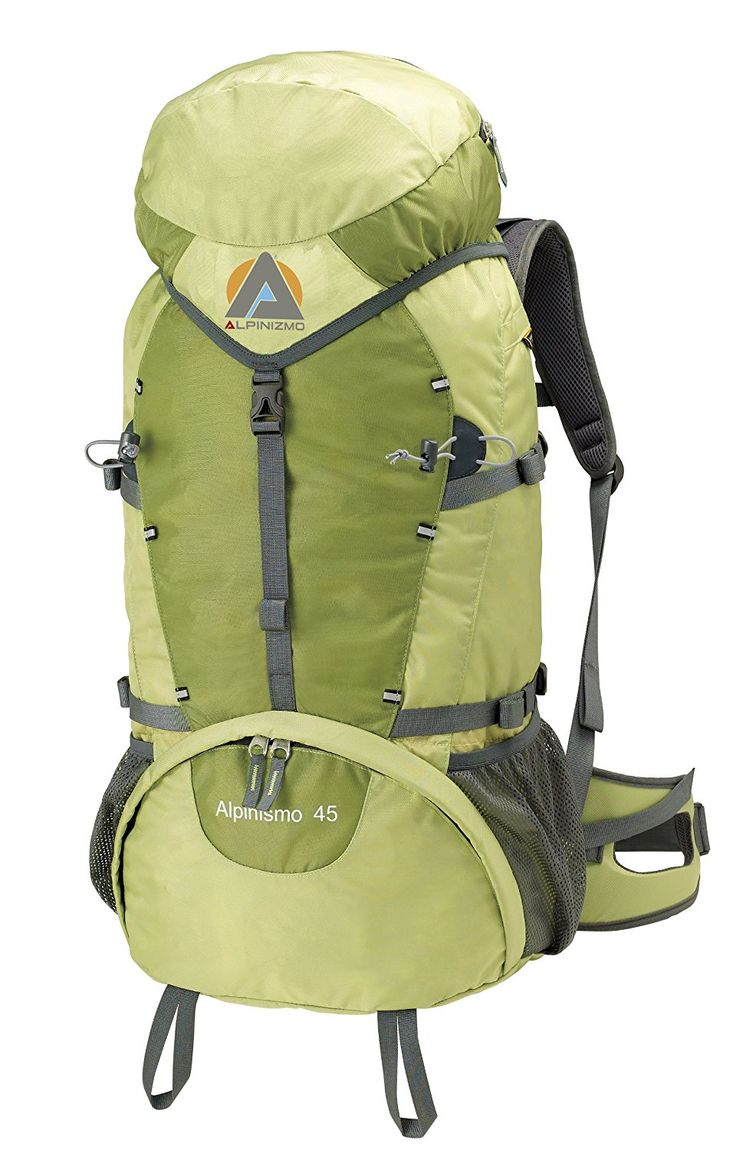 High Peak USA Alpinizmo Alpinismo 45 Backpack, Green >>> Hurry! Check out this great item : Backpacks for hiking