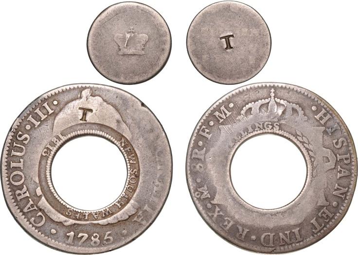 Holey Dollar 1813 Counterstamped #numismatics #coin #rare
