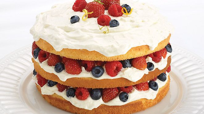 Recette Sponge Cake Creme Mascarpone