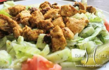 Kuře na salátu Dukanova dieta