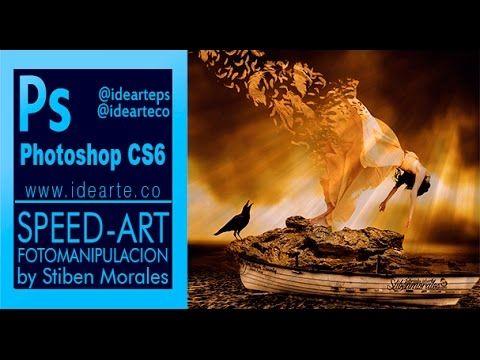 Speed Art photoshop fotomanipulación by stiben morales
