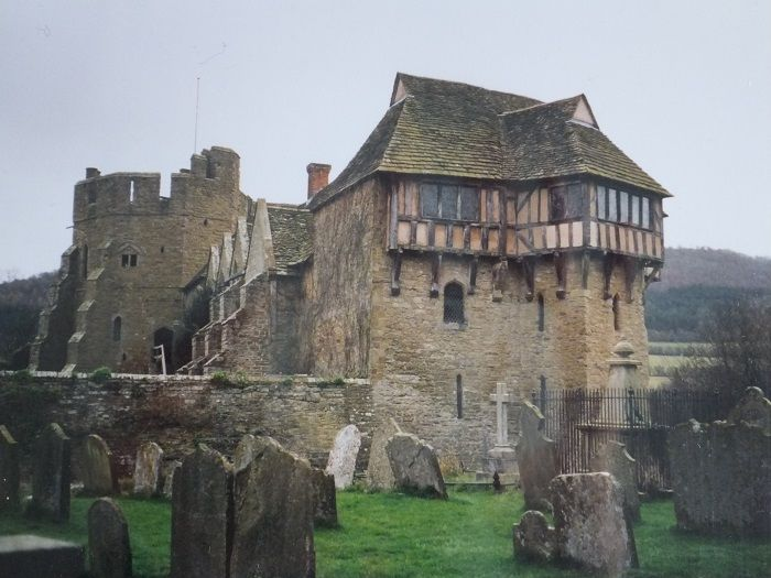 'The top of #Stokesay Castle beckons over the trees like an enchanted cottage on an overgrown chimney.' #NotQuiteLost 'Nobody comes here in November.' #Shropshire