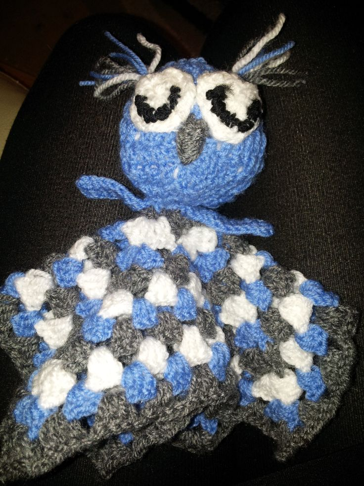 security blanket crochet