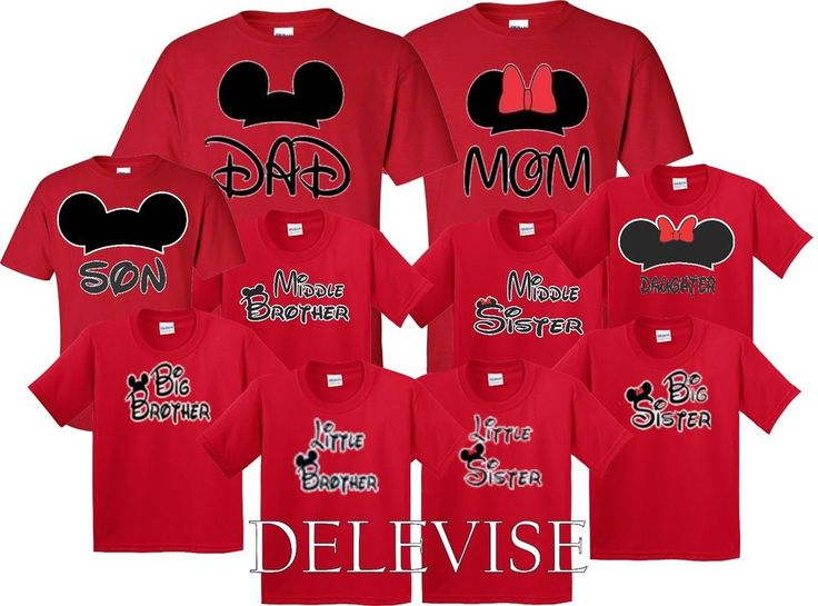 Mom And Dad Mickey & Minnie FAM Disney couple matching funny cute T-Shirts S-4XL #GildanSoft