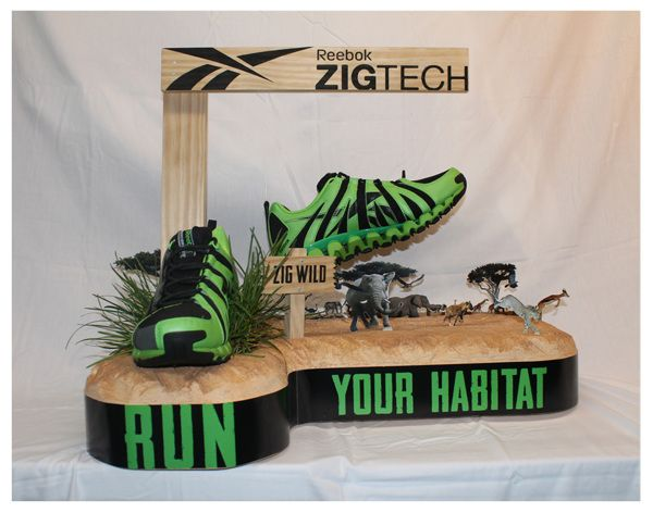 ZigTech Wild- Point of Purchase Display by Garrett O'Brien, via Behance