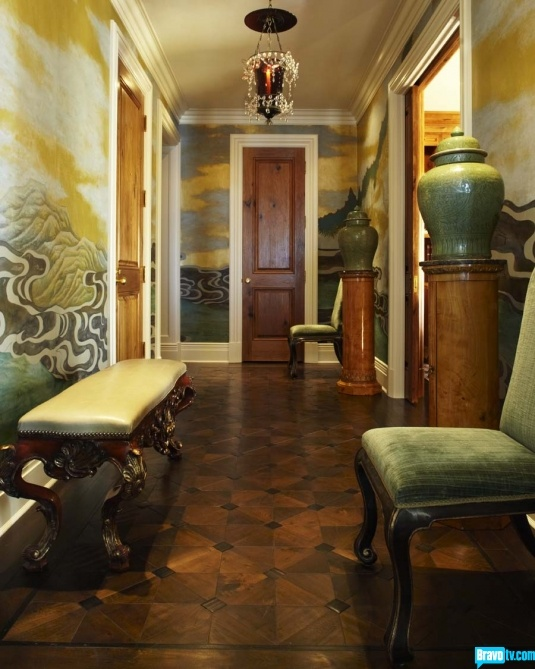 A super chic hallway from Jeffery Alan Marks