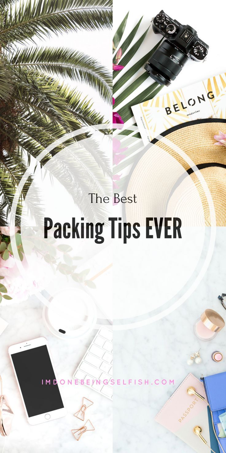 How To Pack Like A Professional, How To Pack For Vacation, How To Pack A Suitcase, Packing Tips