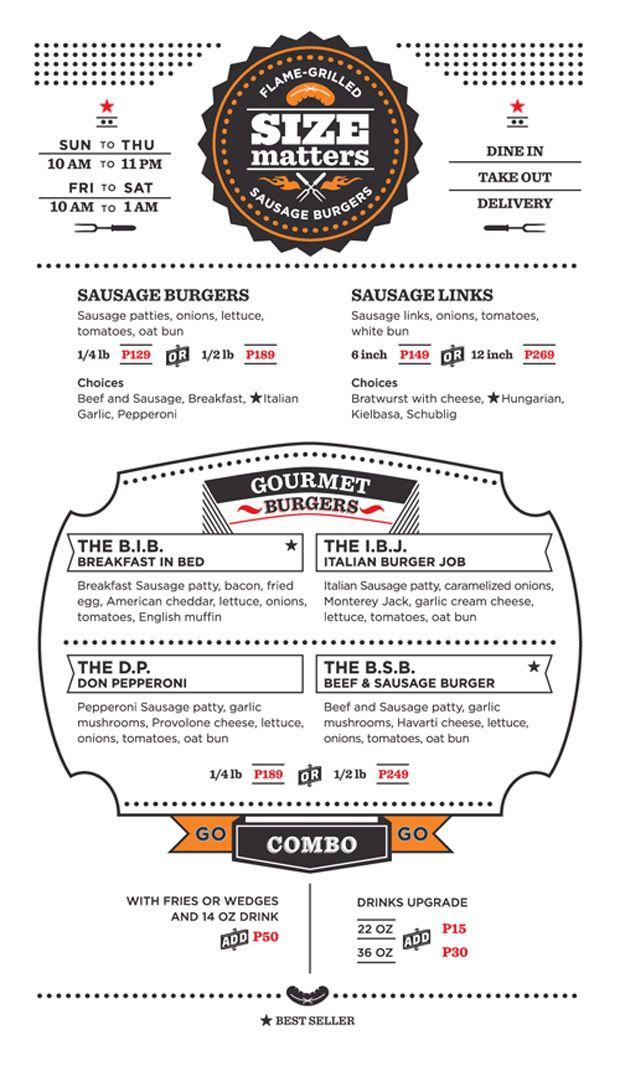 30 Buenos ejemplos de diseños de menús para restaurantes y bares   TodoGraphicDesign