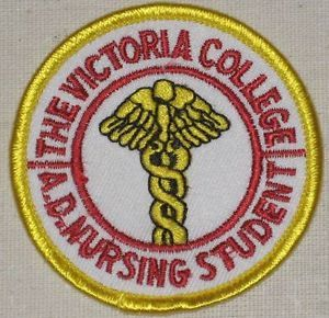 The-Victoria-College-Nursing-Student-Patch-Texas-iron-on