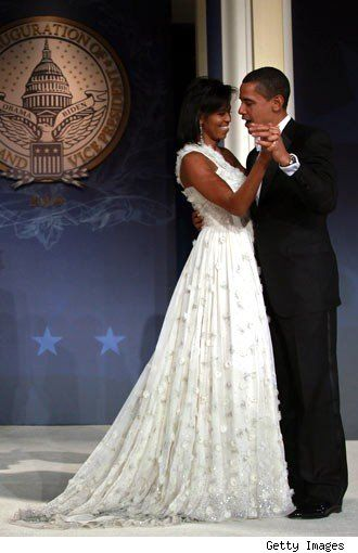 Style icon: Michelle Obama's 1st inaugural gown by Jason Wu