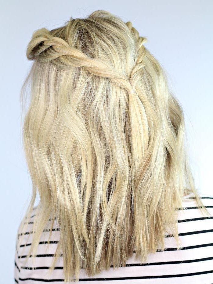 Penteados para Cabelos Curtos Corte de cabelo curto. Bob hair, mob hairstyle!Oh, Lolla Tranças