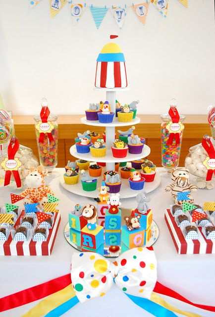 Flavia Ribeiro Andrada - cakes . cupcakes . cookies: Festa do Circo!
