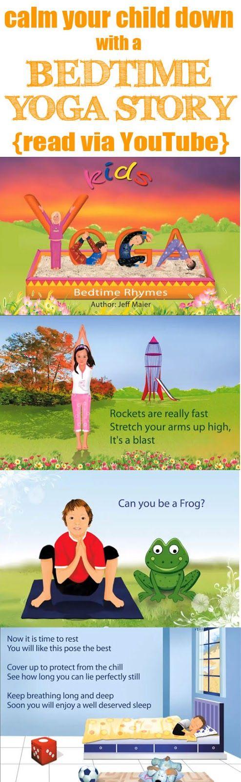 Miss Poppins: Teaching Children Calming Techniques Using Bedtime YOGA Story