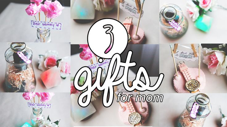 3 GIFTS IDEAS FOR MOTHER'S DAY (LAST MINUTE)