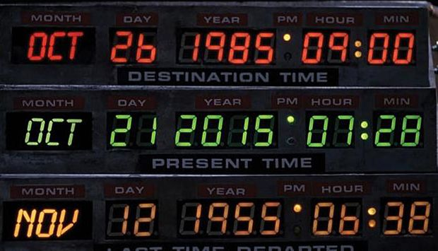 Back to the Future Day October 21, 2015 live: Is your day turning ...