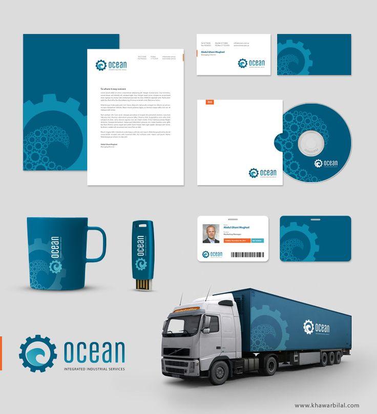 OCEAN Corporate identity by ~khawarbilal on deviantART