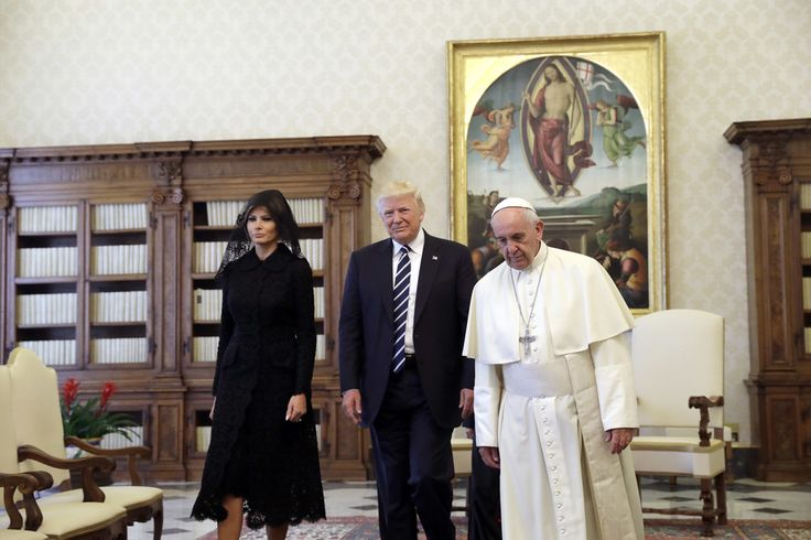 Vatican says Trump's climate decisions are 'a slap in the face,' like believing in flat earth theory                       This past September,Pope Francis held a World Day of Prayer that was almost entirely dedicated to the global problem of climate change. On Thursday, surrounded by plants that will surely die in the White House'sRose Garden, unpopular President Trump...