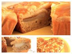 Una torta vegana senza olio deliziosa con pere, uvetta e crema all'arancia...