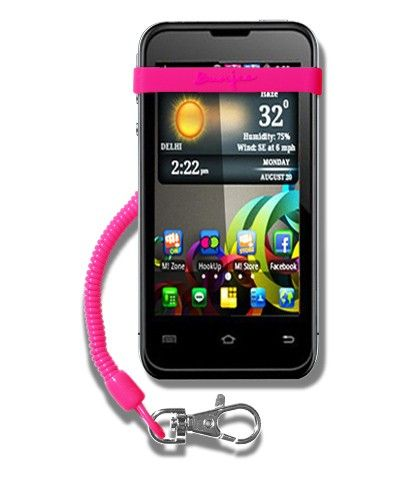 MyBunjee® Classic For BlackBerry Bold Touch 9900 – Pink Strap