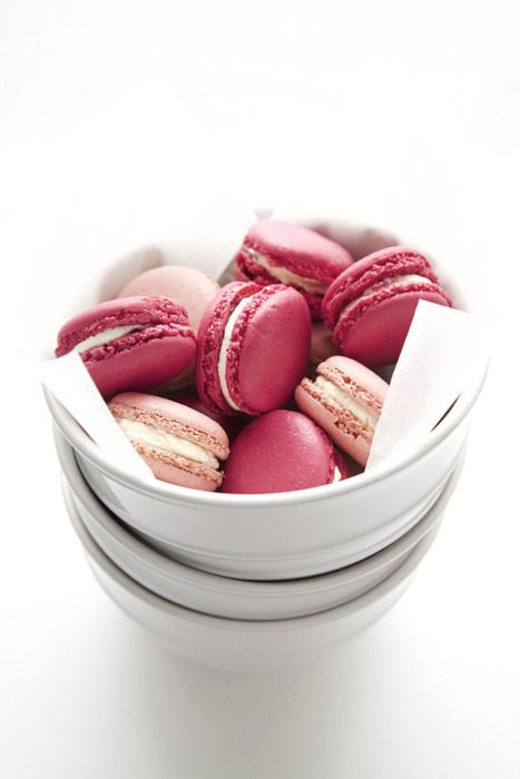 ... on The Girl in Pink!   Pinterest   Macaroons, Pink Macaroons and Pink