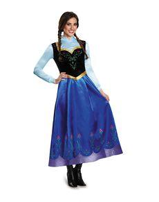 Fato de Anna Frozen prestige para mulher